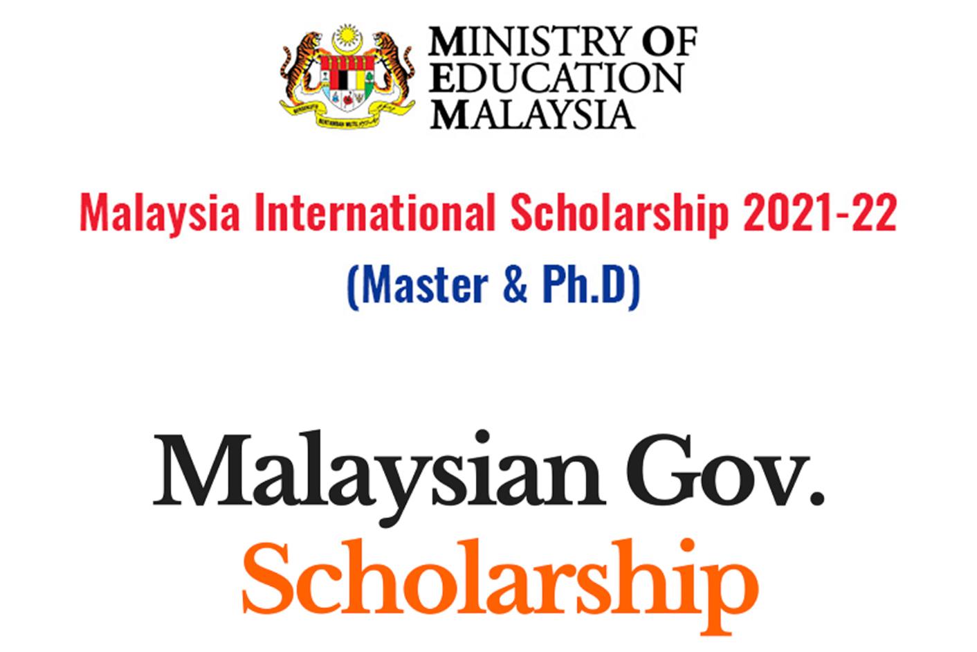 MALAYSIAN UNIVERSITIES AND SCHOLARSHIP
